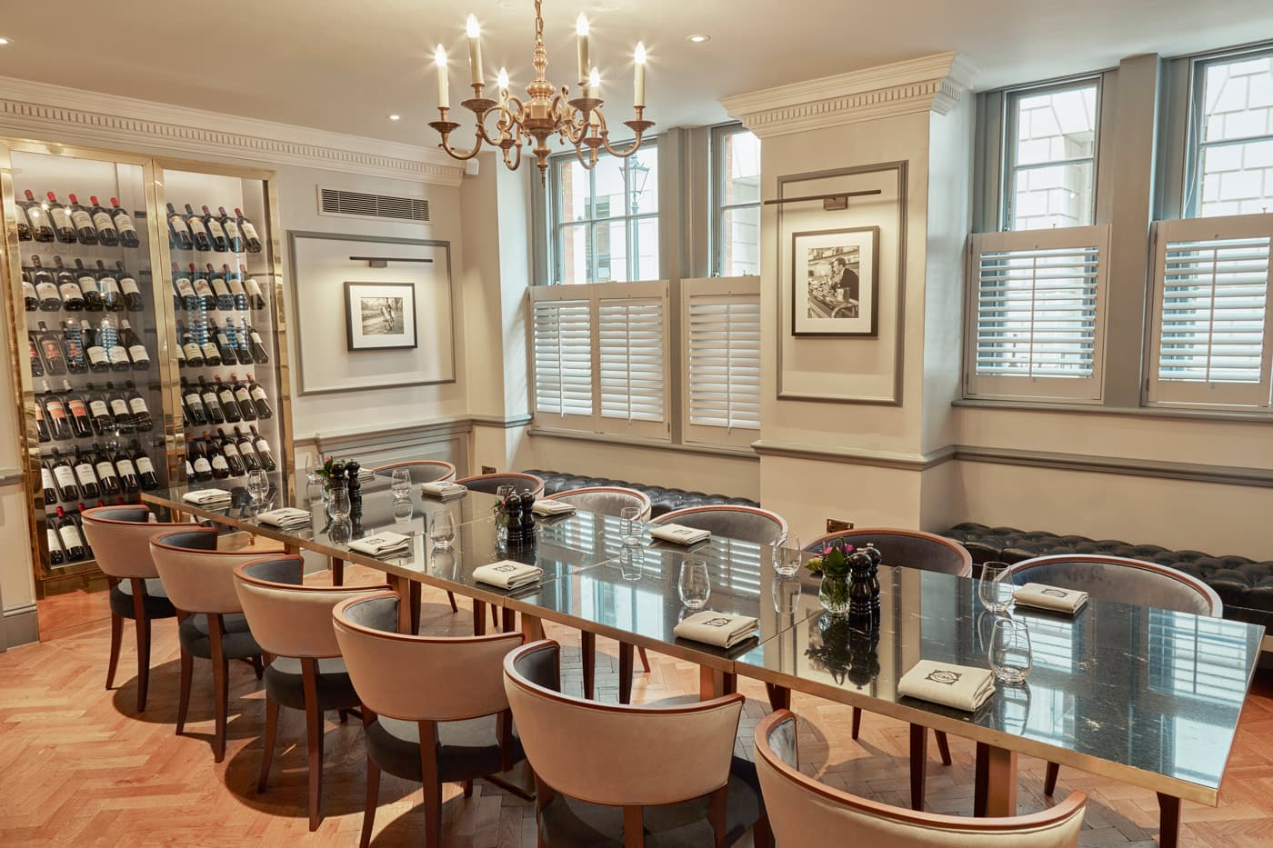 Dukes london mayfair private dining and parties for Best private dining rooms mayfair